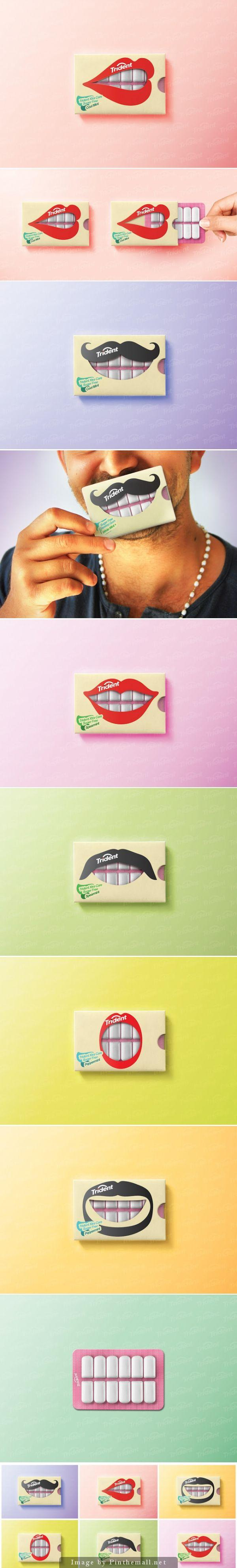 Trident Teeth Friendly Gum