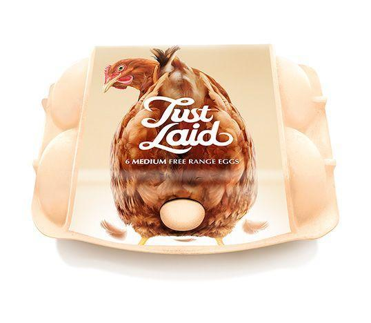 Just Laid Eggs Design Packaging